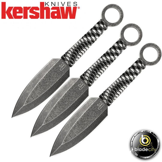 KERSHAW ION THROWING KNIFE SET - Blade City