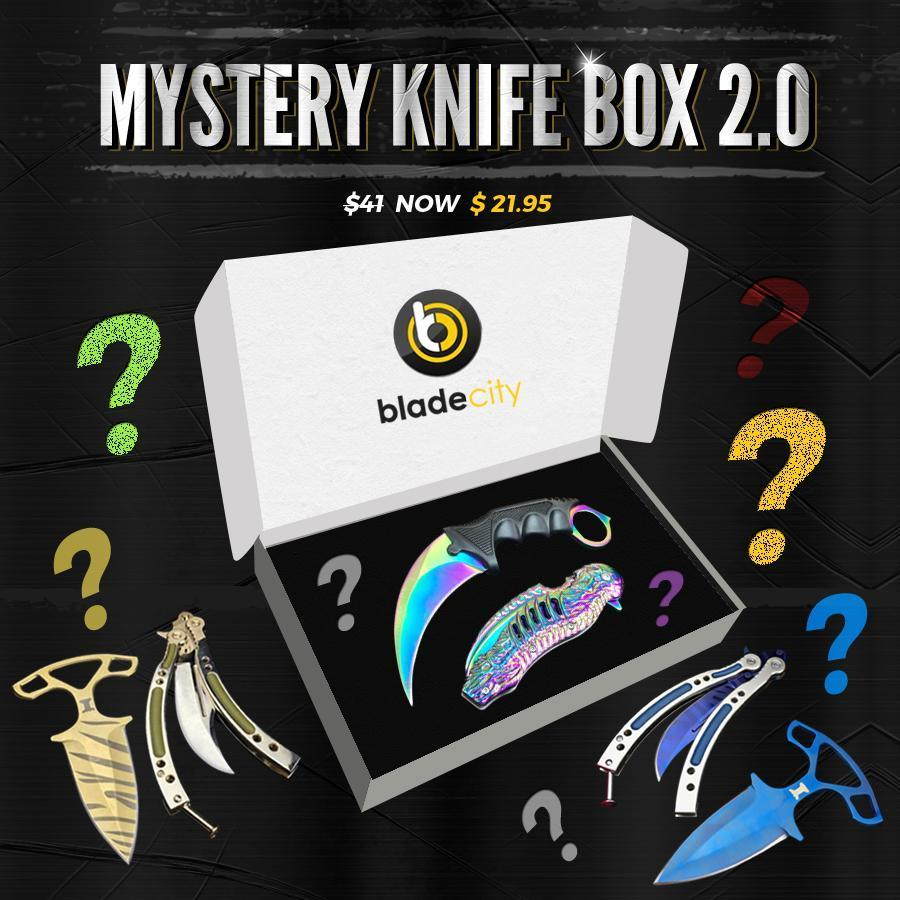 Mystery Knife Box (Random Color) - Blade City