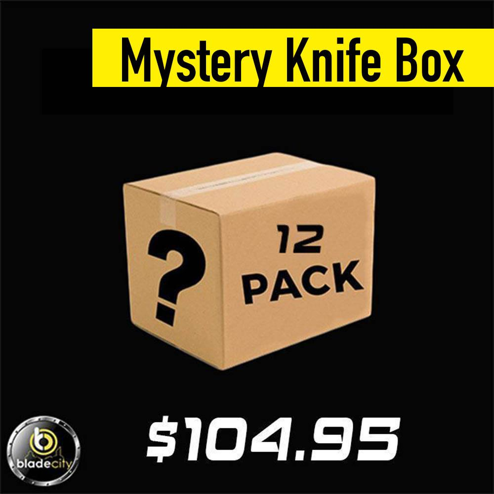 Mystery Knife Pack (12 Knives) - Blade City