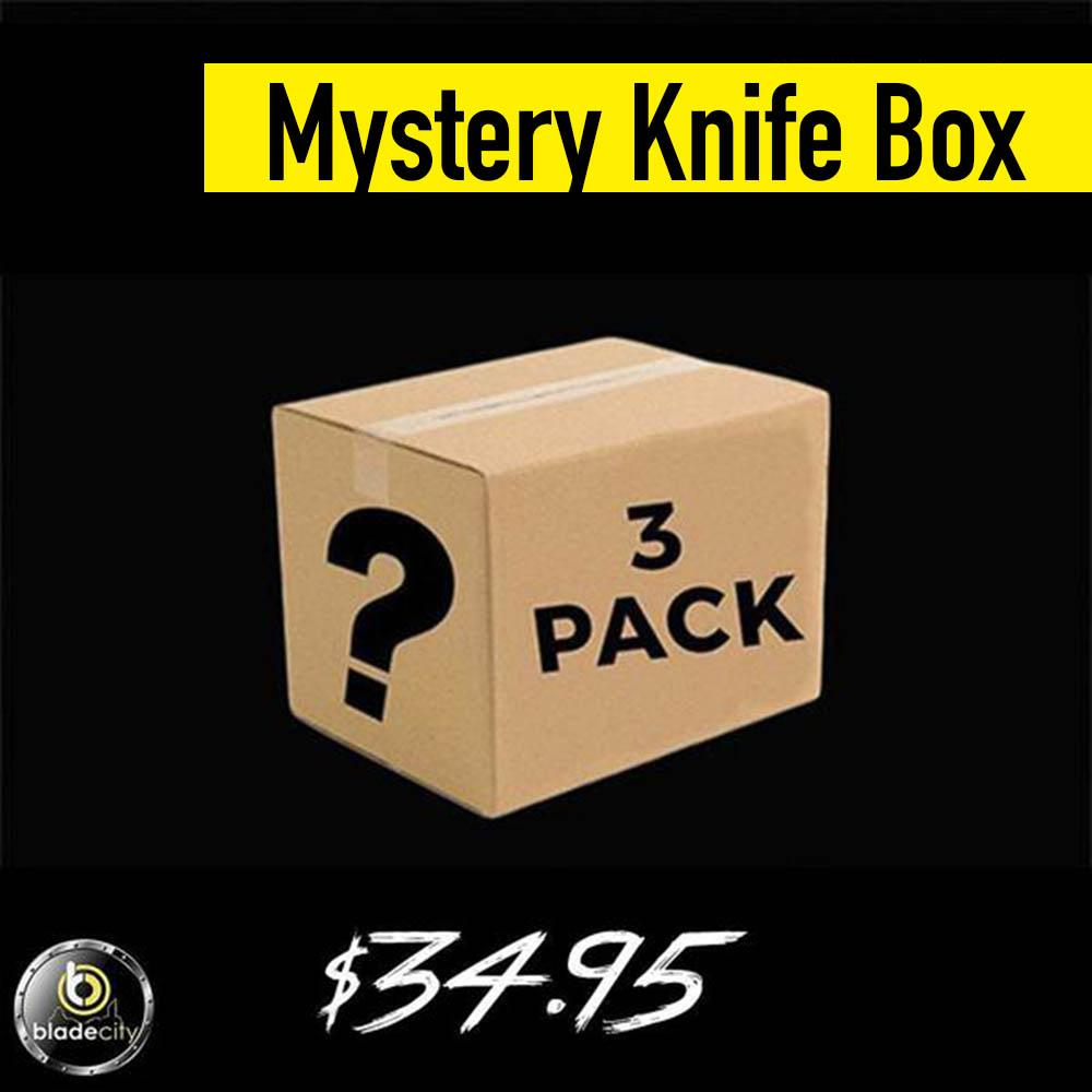 Mystery Knife Pack (3 Knives) - Blade City
