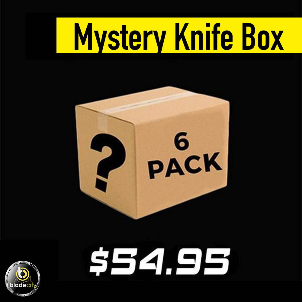 Mystery Knife Pack (6 Knives) - Blade City