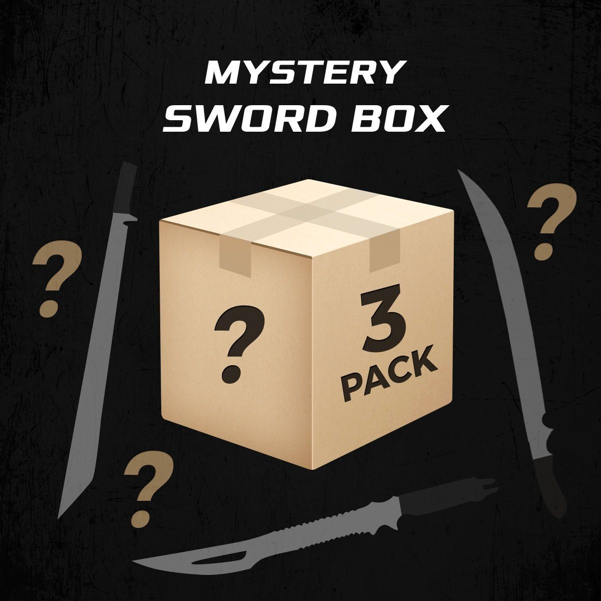 Mystery Sword 3 Pack (3 swords) - Blade City