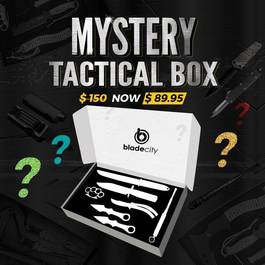 Mystery Tactical Box (Random Color) - Blade City