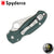 Spyderco Para 3 Folding Knife - Forest Green *Limited Sprint Run* - Blade City