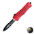 Red Phantom OTF - Half Serrated - Blade City