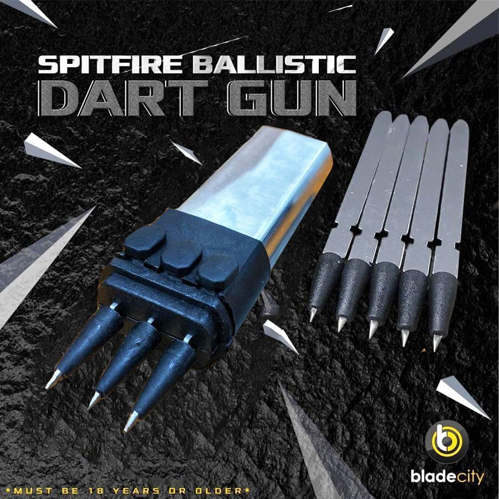 Spitfire Ballistic Dart Gun Launcher (Multiple Colors Available) *MUST BE 18 YEARS OR OLDER* - Blade City