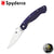 Spyderco Military Model - Dark Blue - Blade City