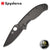 Spyderco Tenacious Folder - Carbon Fiber/Black - Blade City