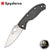 Spyderco Tenacious Folder - Carbon Fiber/Satin - Blade City