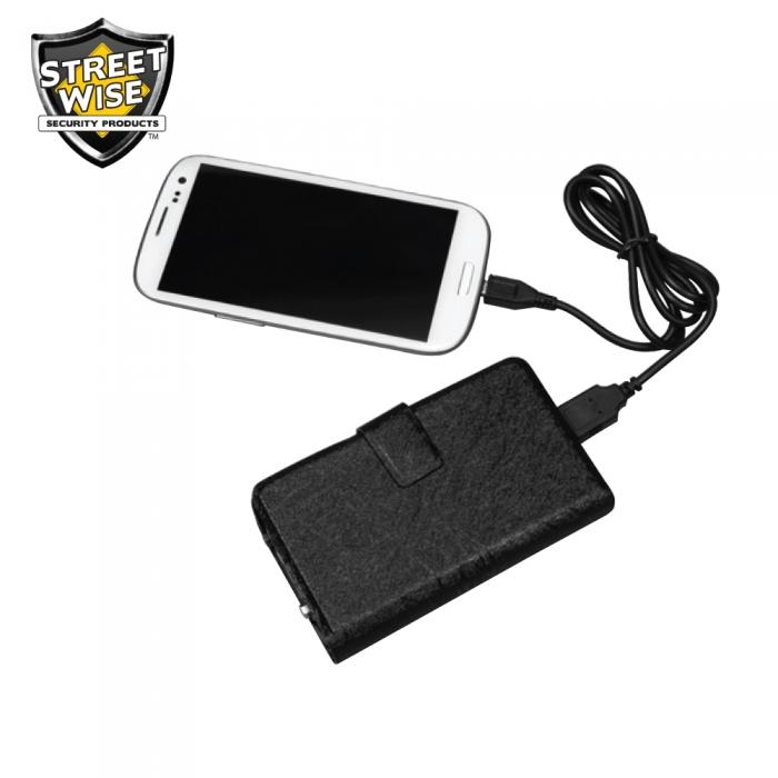 Streetwise JUSTinCASE Stun Gun Power Bank-Blade City