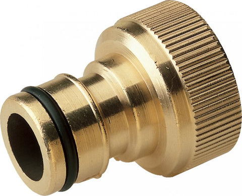 Brass High Flow Male Quick Release x Female Thread Coupler