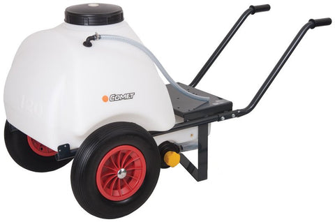 COMET 120 Litre Polyethylene Wheelbarrow Bowser Tank