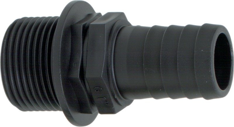 Geoline Polypropylene Hose Barb x Male Thread Fittings