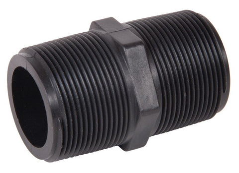 "Banjo Polypropylene Male Threaded 3"" Connecter Fittings"