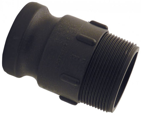 Snaplock Polypropylene Cam Lever Male Taper Thread Adaptor