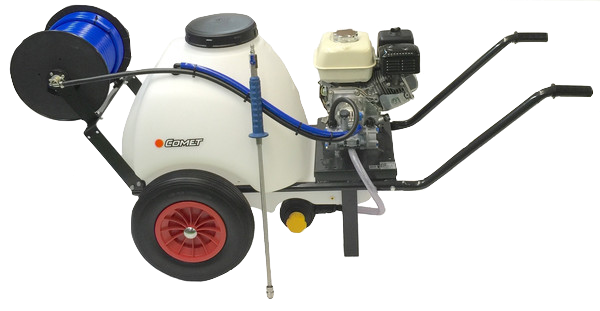 SoftWash Honda GX120 120 Litre Bowser Unit Comet Acid Pump 12LPM 15 BAR