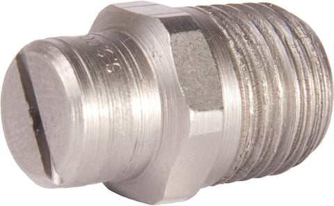"Stainless Steel 1/4"" 65° Jet"