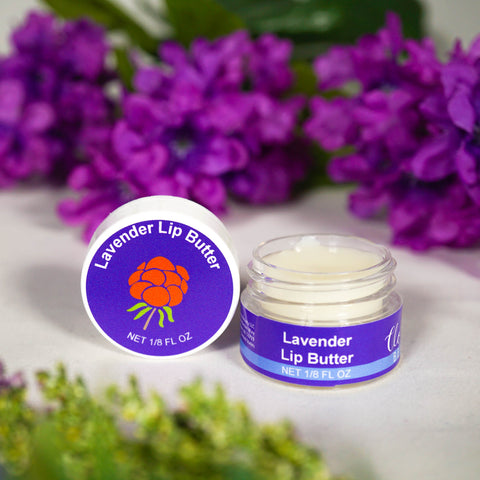 Lavender Lip Butter - Intense Healing with Beeswax & Vitamin E