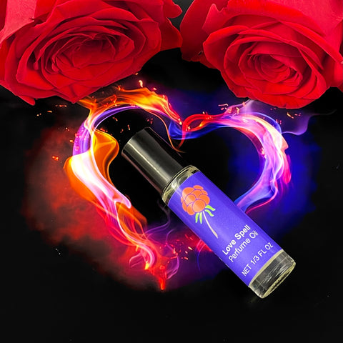 Love Spell Perfume Oil - Cast a Spell Wherever You Go - Exotic Scent