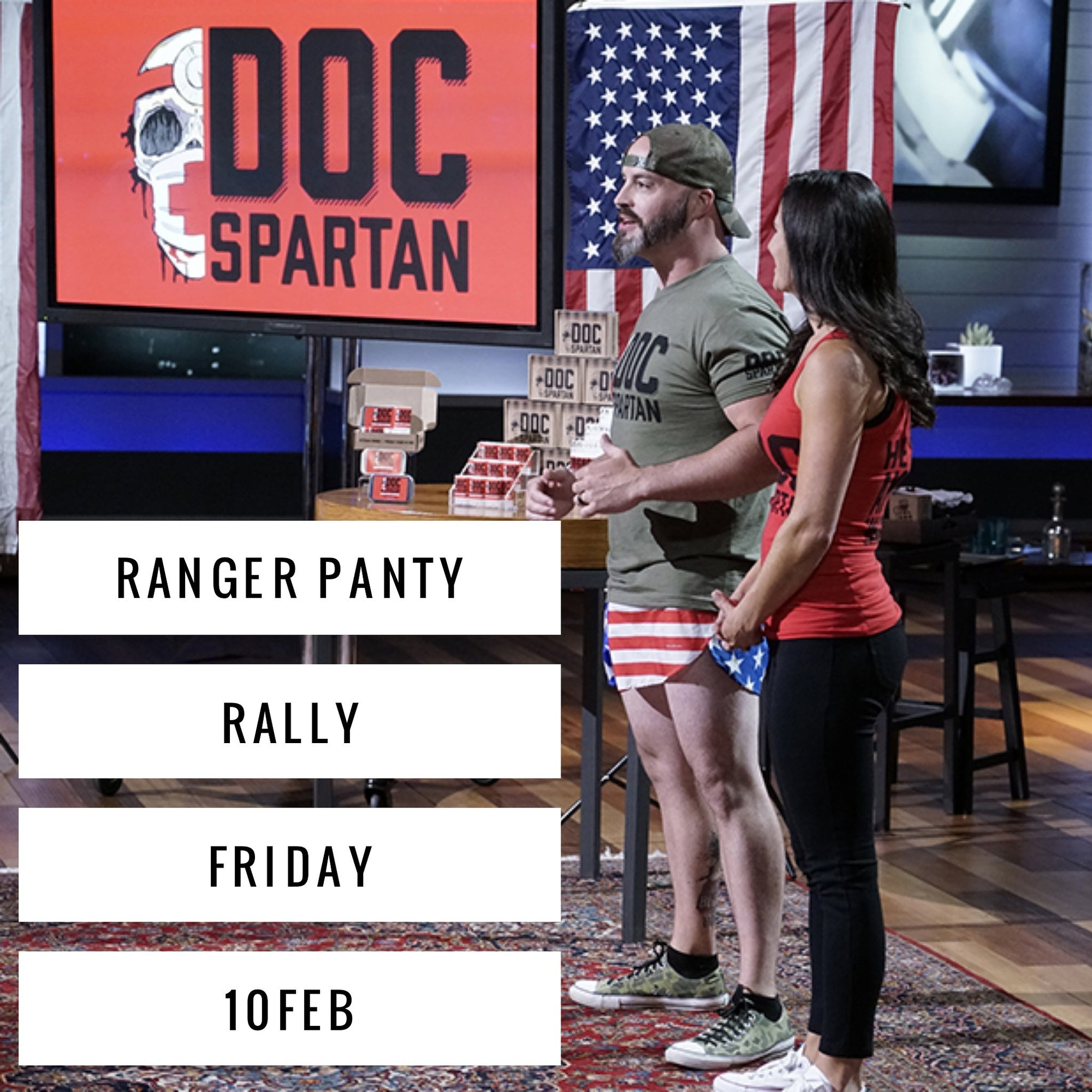 Ranger Panty Rally 10FEB!