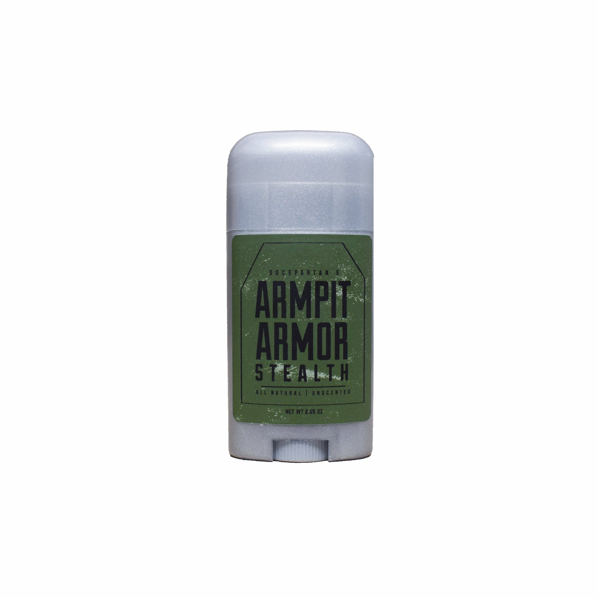 ArmPit Armor - All Natural Deodorant - Stealth Unscented