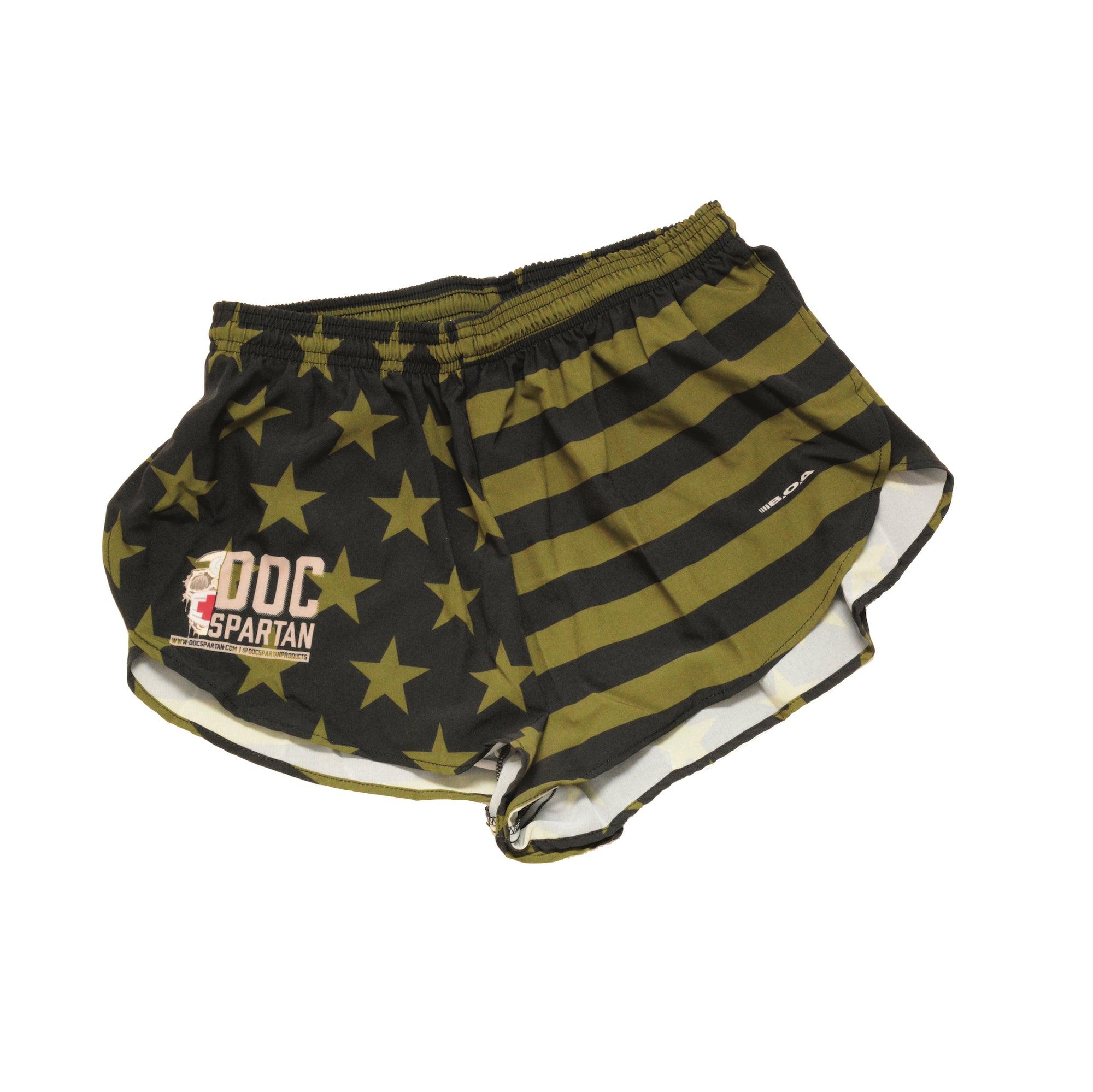 Subdued Flag Ranger Panties - Shorts