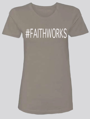 #FAITHWORKS  (grey/white)