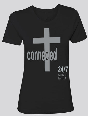 Connected  (black/grey)