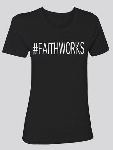 #FAITHWORKS   (black/white)