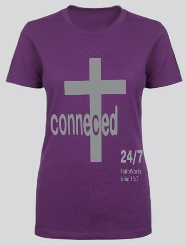 Connected  (purple/grey)