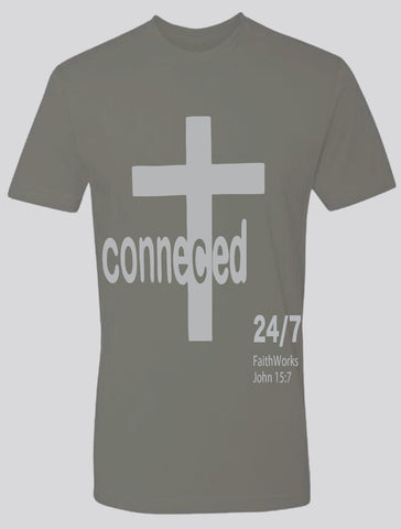 Connected  (grey/light grey)