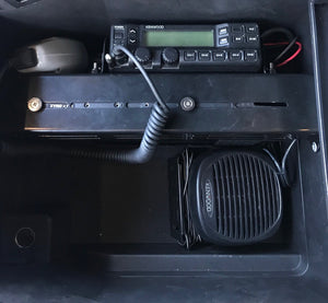 Raptor and SuperDuty 110W Kenwood Radio Center Console Mount