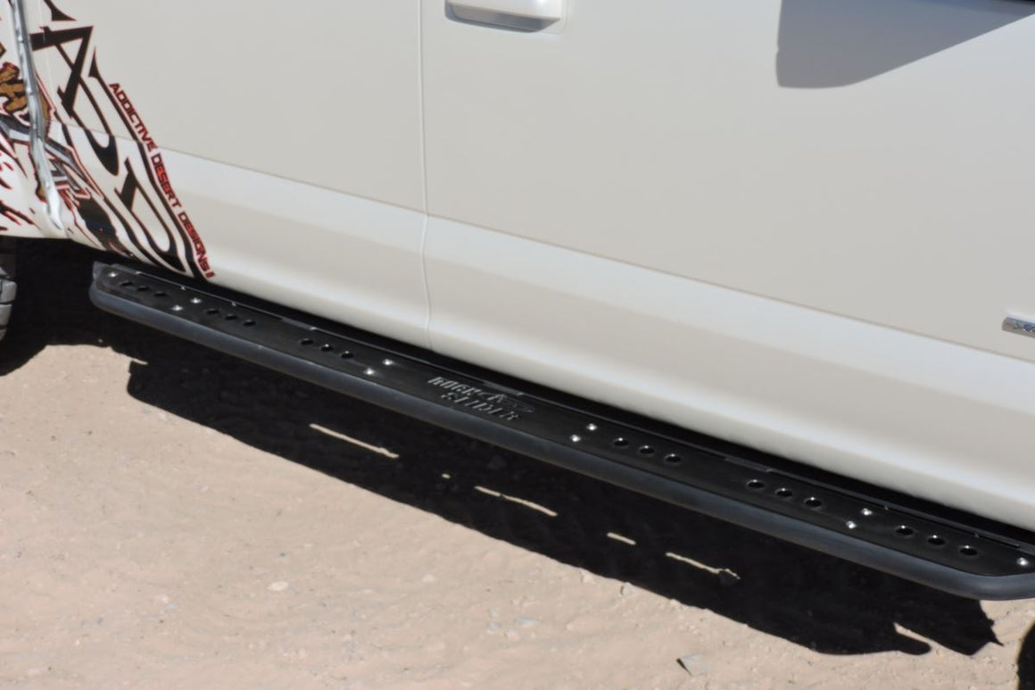 FORD F-SERIES ROCK SLIDER SIDE STEPS (4 DR)