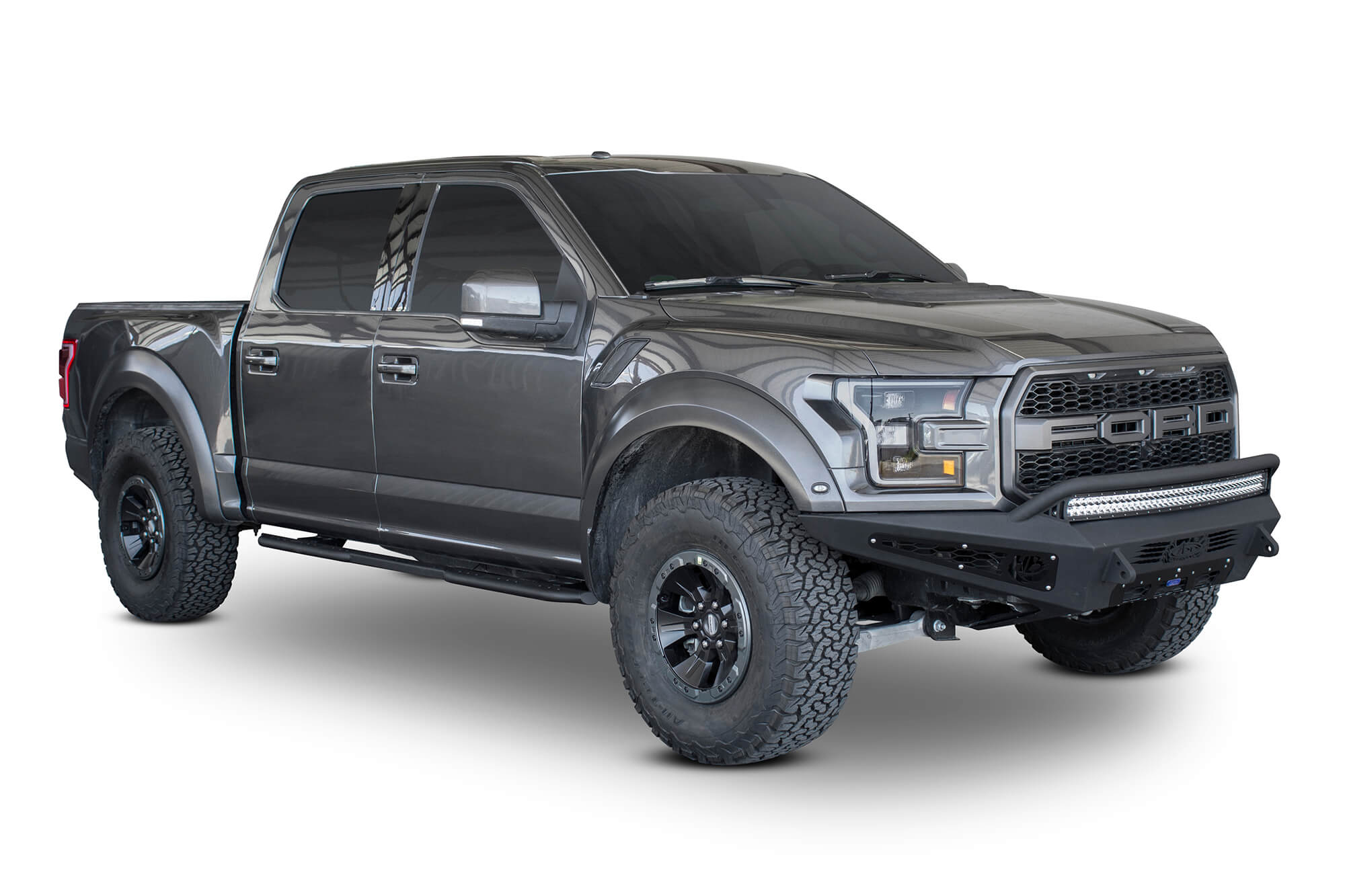 FORD F-SERIES VENOM SIDE STEPS (4 DR)