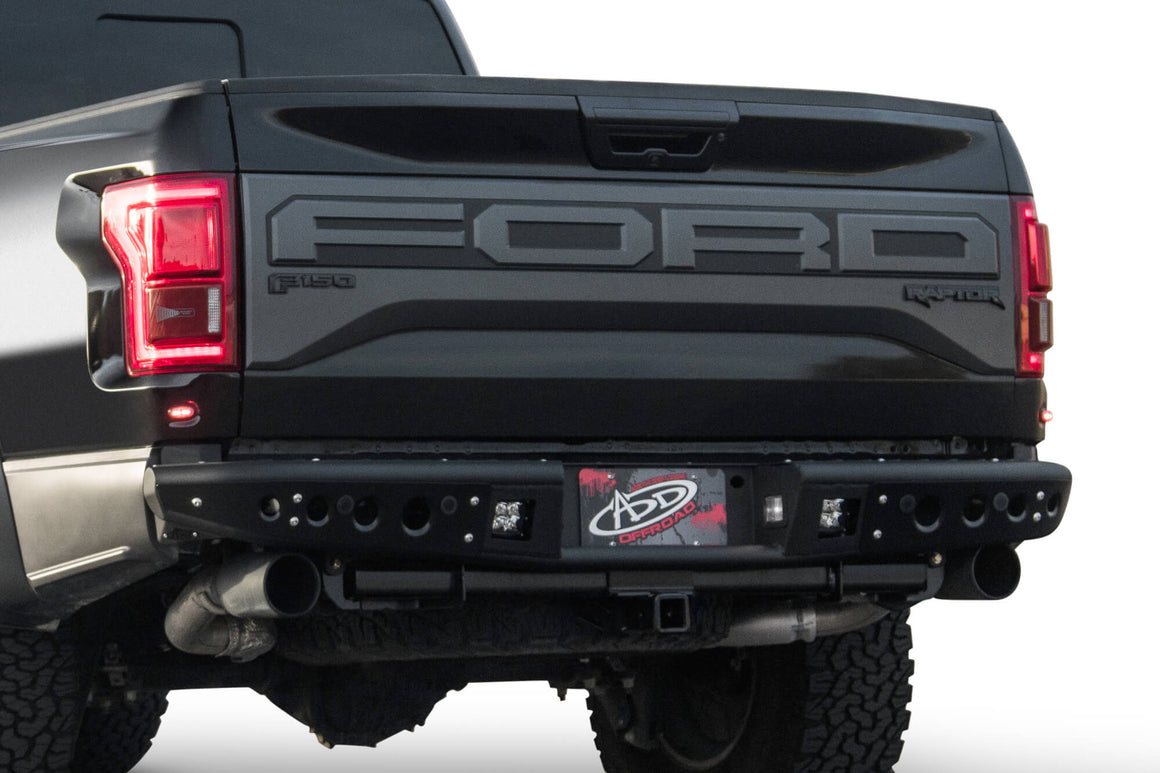 2017-2018 FORD RAPTOR VENOM REAR BUMPER