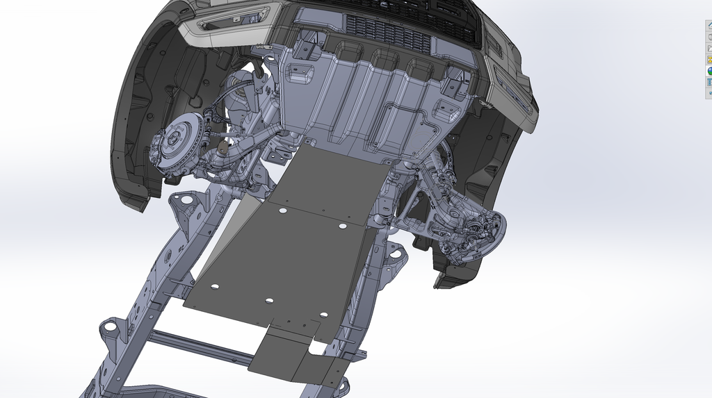 2017 Ford Raptor Skid Plate kit