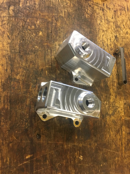 Ford Raptor 3.5L EcoBoost Oil Filter Adapter block