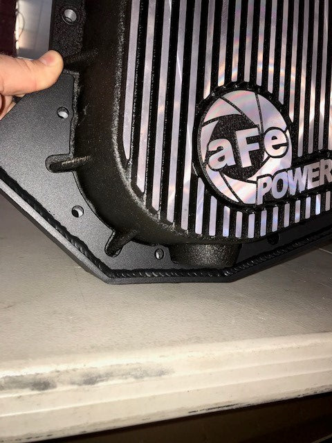 2017- up Raptor Rear Differential Skid Plate Kit