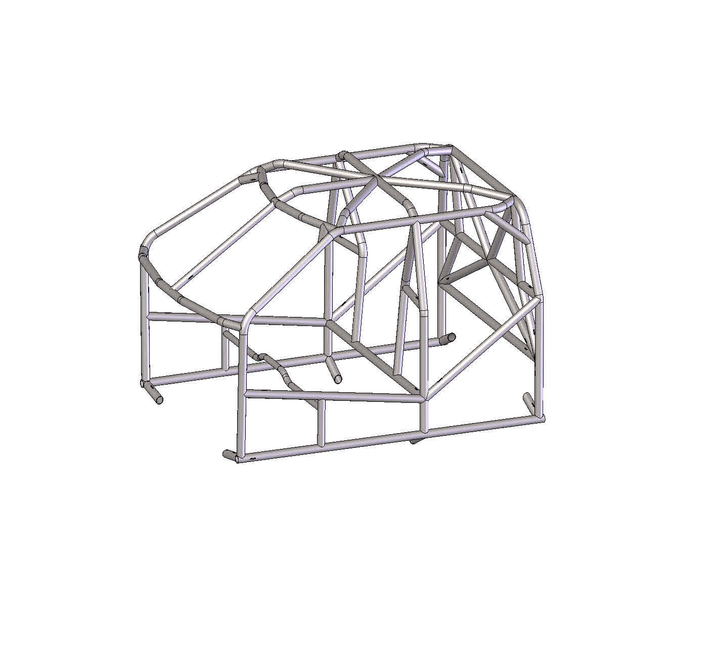 Raptor Super Cab Roll Cage Kit