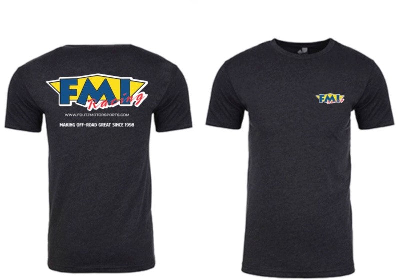 Foutz Motorsports Short Sleeve T-Shirt M.O.R.G. Retro Color Logo