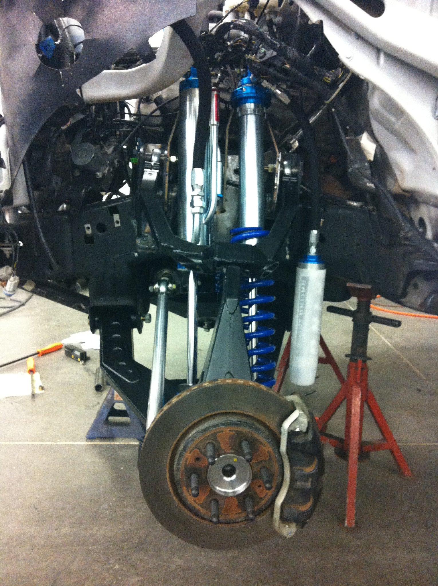Raptor Long Travel Front Suspension Kit - Gen 1