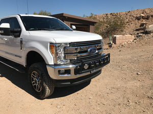 2017 up Ford Super Duty front bumper light bar mount kit