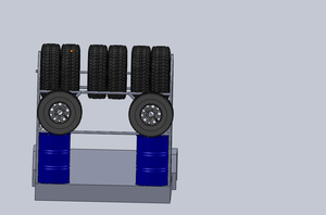 Off-Road Trailer Tire Carrier