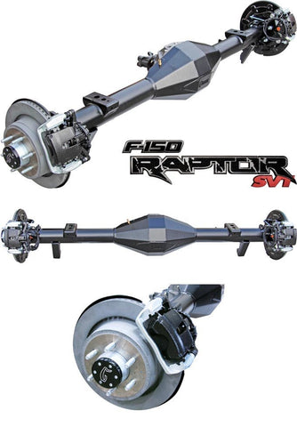Ford Raptor Rear End - Currie full floater - 9 inch