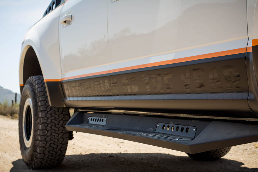 FORD F-SERIES HONEYBADGER SIDE STEPS (4 DR)