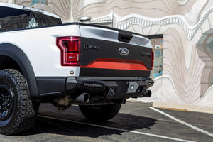 "2017-2018 FORD RAPTOR HONEYBADGER REAR BUMPER (FOR 10"" LIGHTS)"