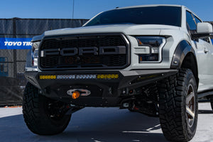 2017-2018 FORD RAPTOR STEALTH FIGHTER WINCH FRONT BUMPER