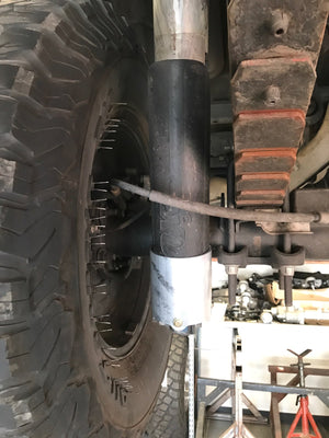 2017 - 2018 Ford Raptor shock guard for rear shock