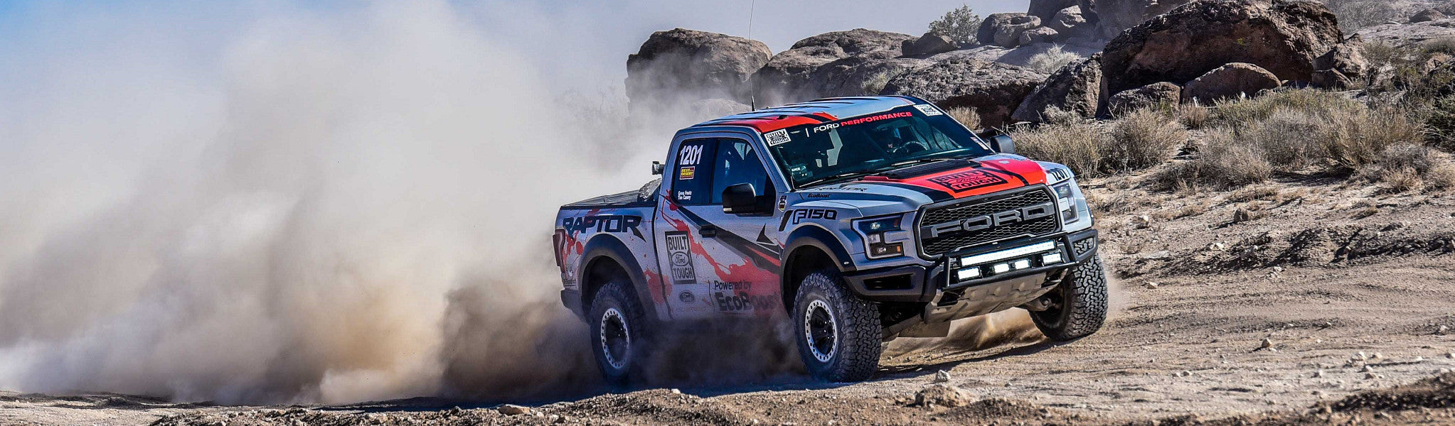 The Ford All New 2017 Ford Raptor - Race Truck
