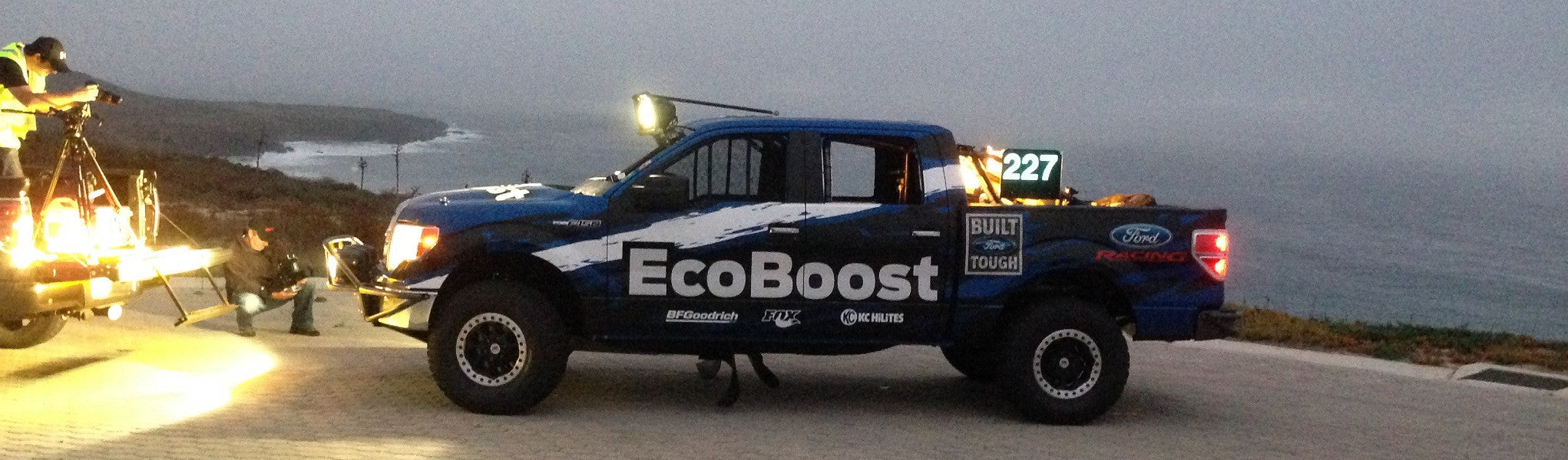 Ford Ecoboost off-road race truck